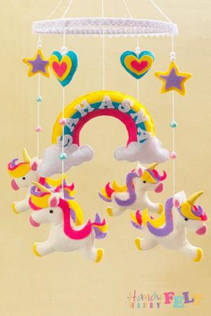 Plush Hanging Baby Toy 🐨🐒(Unicorns)