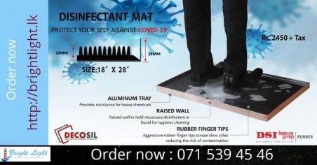 DSI-Disinfectant mat